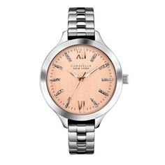 Caravelle New York - Ladies Carla Stainless Steel Watch - 45L141 - RRP: £65.00 - Online Price: £55.00