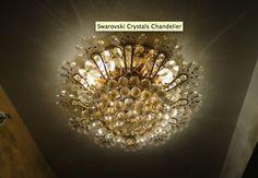 Swarovski Crystals Chandelier  $100