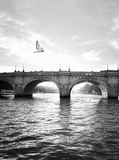 ♔ The Seine ~ Paris