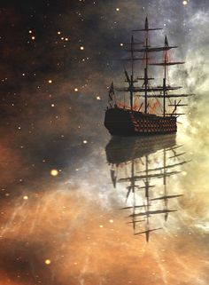 Sail Ship | Cosmos | Eternity