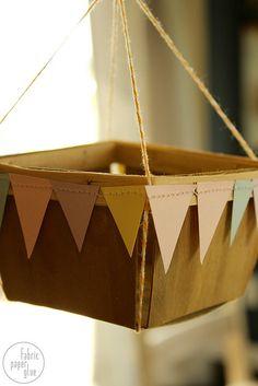DIY Hot Air Balloons 8 by fabricpaperglue, via Flickr