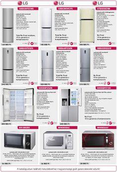Luxus konyhák a Fabulitól: LG konyhagépek a Fabuli kínálatában.