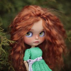Sarah•ooak Blythe doll fake by BlythemagicShop on Etsy https://www.etsy.com/listing/523823561/sarahooak-blythe-doll-fake