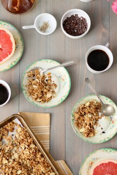 Small Batch Granola, more commonly know as Not A Whole Crap Ton of Granola. I sometimes get about halfway through making a recipe before I realize that I no longer have a taste for what I'm b…