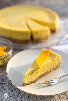 Mango Cheesecake mit knusprigem Boden                                                                                                                                                                                 Mehr