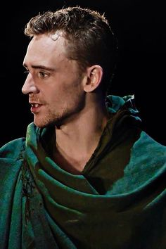 Tom #Hiddleston as Coriolanus at the Donmar - 2013