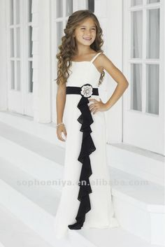 so cute for a school concert where we have to wear black and white dresses!