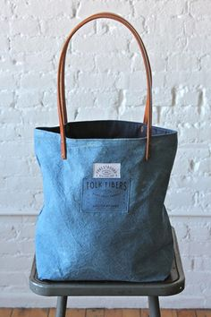 Folk Fibers X Forestbound Indigo Dyed Tote Bag