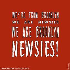 The Newsies Banner