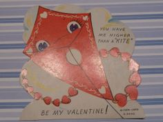 valentine kiss kite