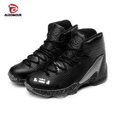 58eda331c6be ALDOMOUR Big Kids Basketball Shoes Boys Girls Shockproof Sport Walking Shoes  Teenage Sneakers Chaussure Basket Enfant Garcon   Price   US  68.48   FREE  ...