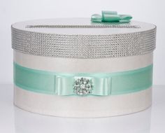 Card box / Wedding Box / Wedding money box mint by DiamondDecor, $53.00