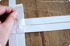 After I posted my Christmas tree last week, I had a few requests for instructions on how to make the paper star.  I think it might be h...