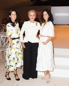 Carolina Herrera Brought Her Daughters to Dallas to Accept an Award - TownandCountrymag.com