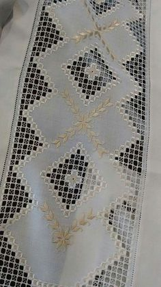 ideas about Hardanger on Hardanger Embroidery, Cross Stitch Embroidery, Hand Embroidery, Doily Patterns, Embroidery Patterns, Stitch Patterns, Dress Patterns, Drawn Thread, Fabric Yarn