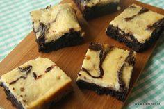 Banaan mascarpone brownies