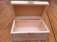 Unfinished jewellery box before painting and decorating