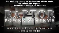 Every custom PDU design from www.RaptorPowerSystems.com is a collaborative effort between our experienced power engineers and our valued clients.    Raptor Power Systems (@RaptorPower) | Twitter