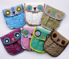 I love these.and my girls are already begging for one! Art From Recycled Materials, Recycled Art Projects, Upcycled Crafts, Handmade Crafts, Sewing Projects, Plastic Bag Crafts, Recycled Plastic Bags, Feed Bag Tote, Fused Plastic