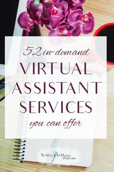 Huge list of in-demand services you can offer as a virtual assistant