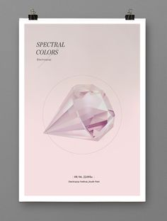Spectral Colors by Clara Fernández, via Behance