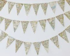 map bunting - Google Search