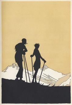 "A Winter Sports Alphabet Pictures by Joyce Dennys, verses by ""Evoe"" (E. V. Knox), (The Bodley Head, 1926)"