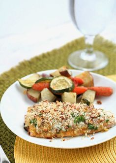 Dinner for Two: Easy Crunchy Mustard-Baked Salmon | Salmon