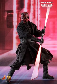 Hot Toys : Star Wars Episode I: The Phantom Menace Darth Maul with Sith Speede - Star Wars Rings - Ideas of Star Wars Rings - Hot Toys : Star Wars Episode I: The Phantom Menace Darth Maul with Sith Speeder scale Collectible Figure Dark Maul, Images Star Wars, Star Wars Pictures, Star Wars Ring, Star Wars Fan Art, Star Wars Gifts, Star Wars Toys, Star Wars Collection, Figuras Star Wars