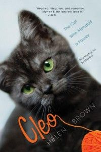 Cleo: The Cat Who Mended a Family, By Helen Brown - A story about a kitten that helped keep a family together.