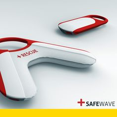 SAFEWAVE | SAFEWAVE is a robotic rescue buoy for beach authorities who are unable to employ professional lifeguards | Design team: Philip Nordmand Andersen of Umeå Institute of Design | IDEA 2013 Gold