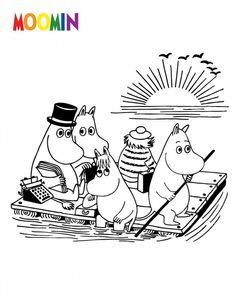 Moomin Cartoon Coloring Pages from Cartoon Coloring Pages category. Find out more awesome pictures to color for your kids Cartoon Coloring Pages, Animal Coloring Pages, Coloring Pages To Print, Printable Coloring Pages, Coloring Pages For Kids, Coloring Sheets, Coloring Books, Cartoon Images, Cartoon Drawings