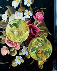 Pineapple Mojitos. This fantastically refreshing rum drink is made with brown sugar–pineapple syrup, rum and lots of mint.