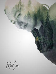 Doble exposición Antonio Mora, Artwork, Double Exposure, Exhibitions, Work Of Art, Auguste Rodin Artwork, Artworks, Illustrators