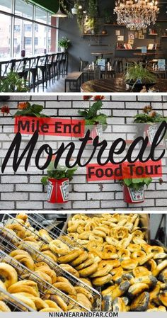 Exploring Mile End Montreal on a Food Tour - Nina Near and Far