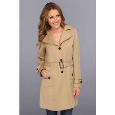 $99, Tan Trenchcoat: Pendleton Trench Coat Coat. Sold by 6pm.com. Click for more info: http://lookastic.com/women/shop_items/75464/redirect