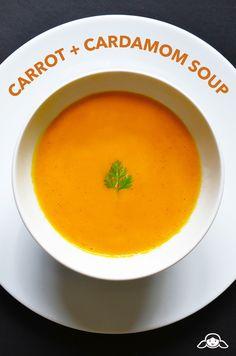 Carrot  Cardamom Soup | Nom Nom Paleo