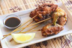 <p>Kushikatsu+is+pieces+of+deep-fried+pork,+like+Tonkatsu,+on+a+skewer.+ It+is+a+comfort+food+Japanese+people+lov…