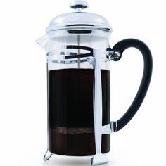 La Mejor Cafetera Prensa Francesa Del Mercado (Filtración Ultra Fina) 1 Litro (34 Ounce) Brews 4 Tazas de Café, Filtro de Acero Inoxidable Extra Fino, Cafetiere, Extras Incluido!
