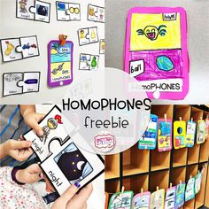 Homophones and Antonyms!!
