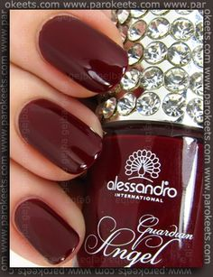 Dream Polish Midnight Red My Guardian Angel, Nail Studio, Hello Beautiful, Red And Pink, Nail Colors, Swatch, Style Me, Nail Polish, Nails