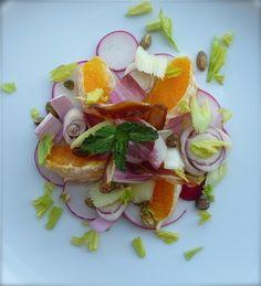 Belgian Endive, Orange and Date Salad