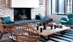 L'architecte Christophe Ducharme a imaginé pour une famille en vacances un ensemble de trois jolis bâtiments indépendants baignés de lumière. Un merveilleux refuge estival qui donne à la décoration un air de vacances !