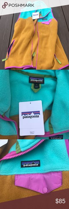 Patagonia vest Brand new! Super warm and cute Patagonia Jackets & Coats Vests