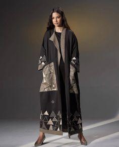 Modern Abaya, Abaya Designs, Abaya Fashion, Kimono Top, Classy, Coat, Womens Fashion, Autumn, Purses