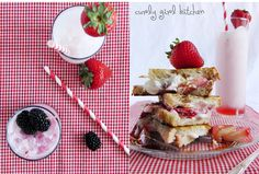 Curly Girl Kitchen: Italian Cream Sodas with Homemade Berry Syrups