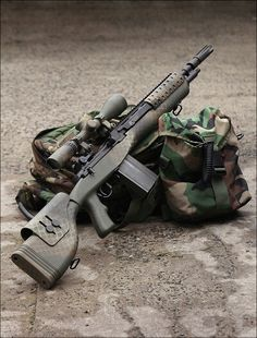 M14 with Scope