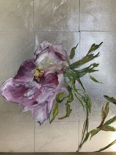 Claire Basler lives in the outskirts of Paris in a former iron works. Oil Painting Flowers, Abstract Flowers, Art Floral, Bird Artwork, Botanical Art, Painting Inspiration, Flower Art, Amazing Art, Drawings