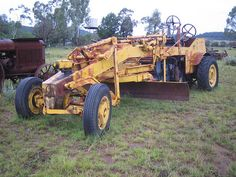 A malcolm moore grader fitted to a powered fordson that I once owned. Antique Cars, Monster Trucks, Vehicles, Vintage Cars, Car, Vehicle, Tools