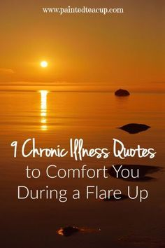 Chronic pain and chronic illness quotes to help comfort and inspire you during a flare up! Be sure to get a printable copy of all 9 chronic illness quotes! Chronic Fatigue Treatment, Fatigue Causes, Chronic Fatigue Syndrome Diet, Chronic Fatigue Symptoms, Chronic Tiredness, Mental Illness Quotes, Chronic Illness Quotes, Depression Symptoms, Positive Thoughts